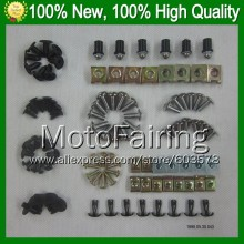 Fairing bolts full screw kit For KAWASAKI NINJA ZZR-1400 ZZR 1400 ZZR1400 2006 2007 2008 2009 2010 2011 A143 Nuts bolt screws