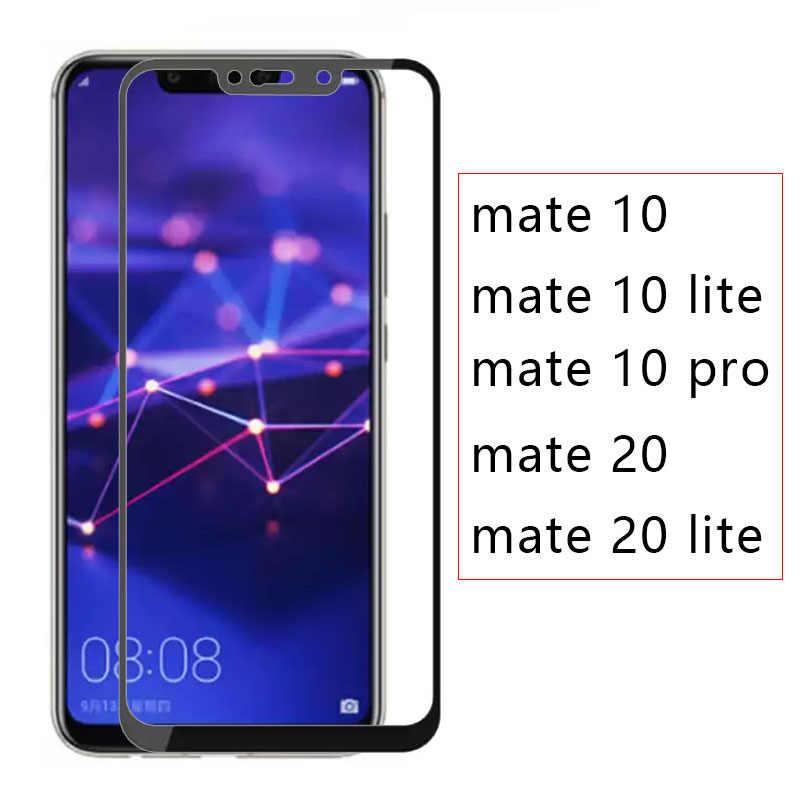 Ốp lưng Trên Cho Huawei Mate 20 Lite 10 Pro Full Bao Kính Cường Lực Điện Thoại Làm Mờ Mate10 Mate20 Sáng Đô Thị Tremp an toàn 20 Lite 10 Lite