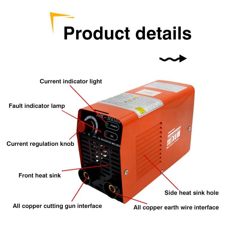 ARC-300 220 v Weld Elektrische Schweißer Tragbare Kleine Mini Elektrische Schweißer Volle Kupfer Core Mini Haushalt 160A Mit hex Wrench