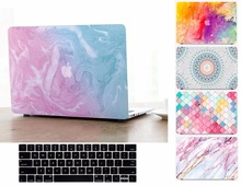 New Fashion Marble Pattern Hard Shell Case Keyboard Cover Skin Set For 11 12 13 15″ Apple Macbook Air Pro Retina Touch Bar Gift