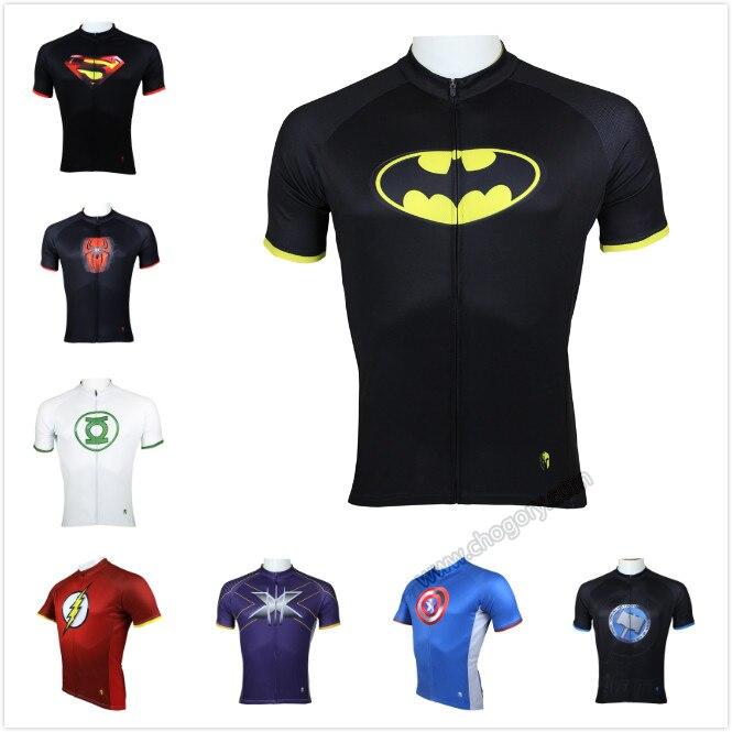High Quality Batman Cycling Jersey Superhero Dirt MTB Mountain Bike Jersey Xxxl Plus Size Leisure Sports Clothing