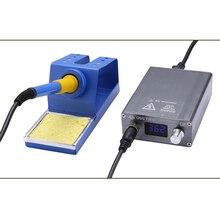 AC110 230V 72 واط T12 الرقمية سبيكة لحام محطة سريعة التدفئة قابل للتعديل درجة الحرارة لحام الحديد بغا أدوات لحام