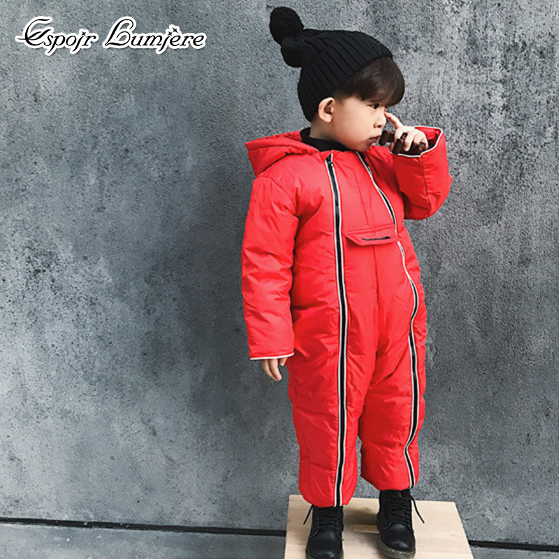 65c538591 Buy Newborn Baby Romper Keep Warm Clothes Russian Winter Thick ...