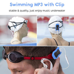 Image 2 - High Quality Mp3 Player 4GB IPX8 Waterproof Swimming MP3 For Summer Diving Outdoor Sport FM Radio Music Player With Earphone