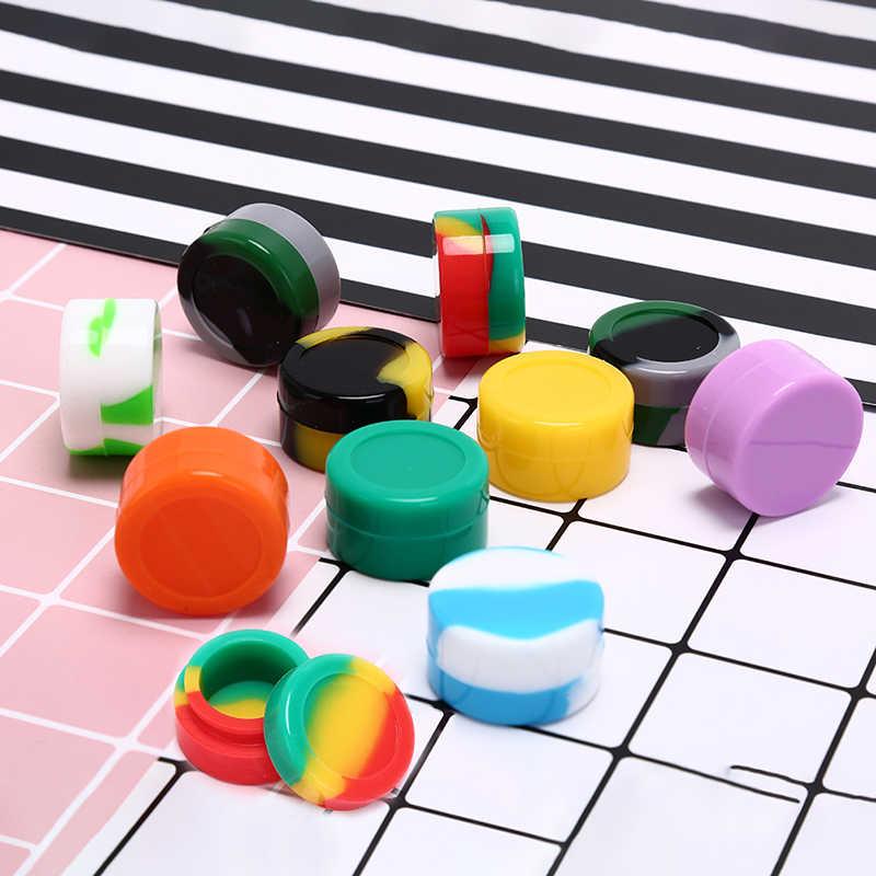 3 ml/5 ml/26 ml/35 ml Schädel Silikon Container Hexagon Big Silikon Glas Für Öl wachs Tupfen Zigarette Creme Einfach Zu Halten Tragen