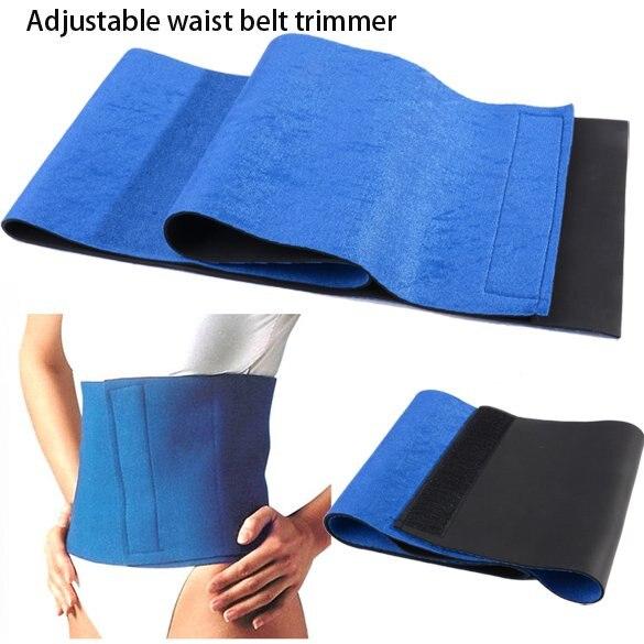New Trimmer Adjustable Sauna Slimming Belt Body Sculpting Waist Shaper Weight Loss Sauna Waist Belt