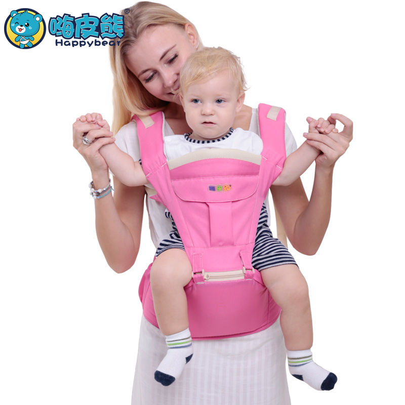 0 36 Months hipseat Manduca newborn Multifunctional 2 in 1 carry style Ergonomic baby carriers kid sling Kangaroo Baby HappyBear in Backpacks Carriers from Mother Kids