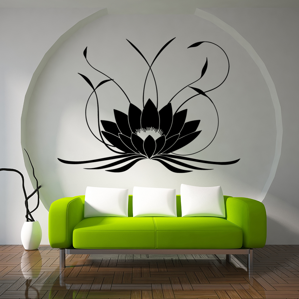 1PC Wall Sticker Removable DIY Non-toxic Mandala Pattern Wall Decals for Bedroom