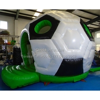 4.5m Soccer Inflatable Castle Bouncy Castles Jumping House Inflatable Bouncy Trampoline