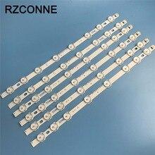 LED قطاع 8 المصابيح ل LG inنوت k 42FHD L NDV REV0.2 A + C نوع هيتاشي 42HXT12U 42HXT42U فيليبس 42PFL3008H12 VES420UNDL N01