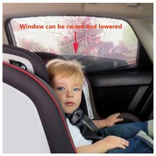 2pc Universal Car Side Window Mesh Kids Protect Bug Screen Baby Sun Shade Premium Breathable Shield UV Cover
