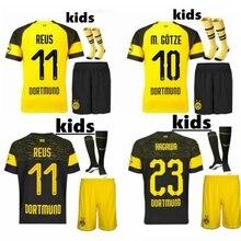 48e04b682 2019 adult kit Borussia short 18 19 Top Quality Dortmund Leisure Casual AUBAMEYANG  REUS free shipping