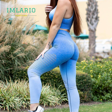 Imlario Women Ombre Seamless Gym Fitness Leggings High Waist Yoga Pants Cut Out Running Tights Scrunch Butt Running Leggings black cut out yoga bodycon leggings