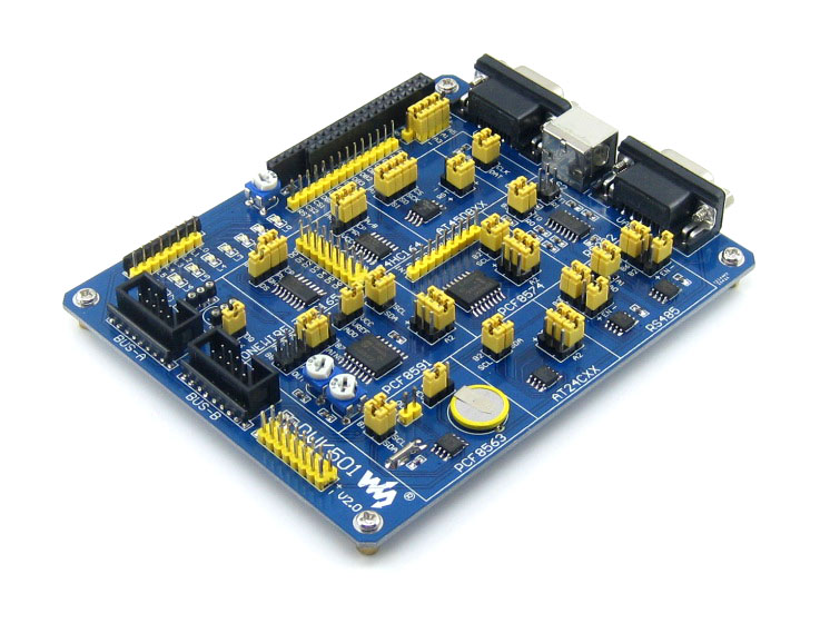 Microcontroller peripheral expansion board to be equipped with control board onboard RTC serial EEPROM module microcontroller