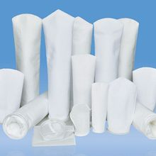 INDUSTRIAL-FILTER Pp/stainless-Ring Sock 105x230mm Sak 4-Pocket Pp-Material X9-