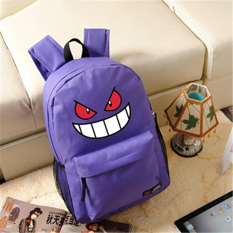 Pokemon Pocket Monsters Charizard Printing Cartoon Shoulders Bags for Children Gifts School Backpacks Boys Grils Mochilas