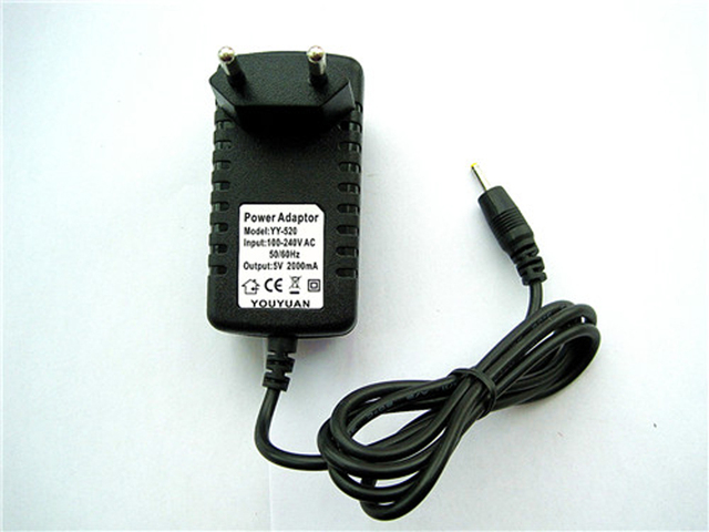 Universal Power Adapter Wall Charger 5V 2A for Polaroid PTAB1050 Android  Tablet PC