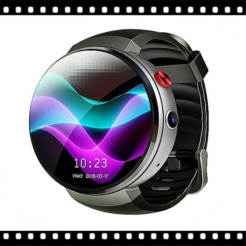 Carte SIM montre intelligente caméra Android 7.0 montre intelligente 4g montre intelligente téléphone fréquence cardiaque 1gb + 16GB mémoire avec caméra