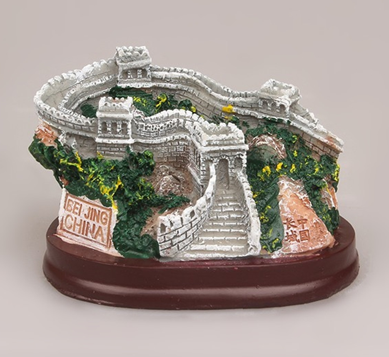 Himmelen Beijing Creative 3D Micro Landscape Resin Crafts Kina Turisme Suvenirer Funksjoner Home Decortion Business Gifts