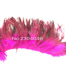 5-6 inches high (12-14CM) feather dyed red rose decoration process, Feather 800-900 Root