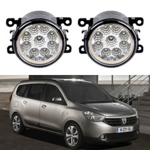 Buy renault dacia lodgy and get free shipping on aliexpress for dacia lodgy 2013 2014 2015 car styling 9 pieces led fog lights 12v 55w fog publicscrutiny Choice Image