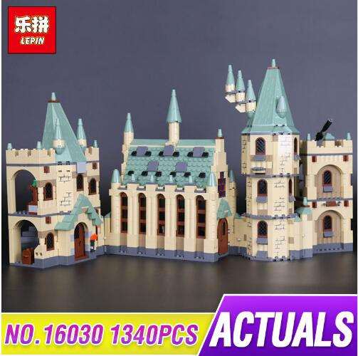 New Lepin 16030 The Hogwarts Castle Creative Movies Building Block Brick Compatible Legoing 4842 Educational Toys for children new lepin 16008 cinderella princess castle city model building block kid educational toys for children gift compatible 71040