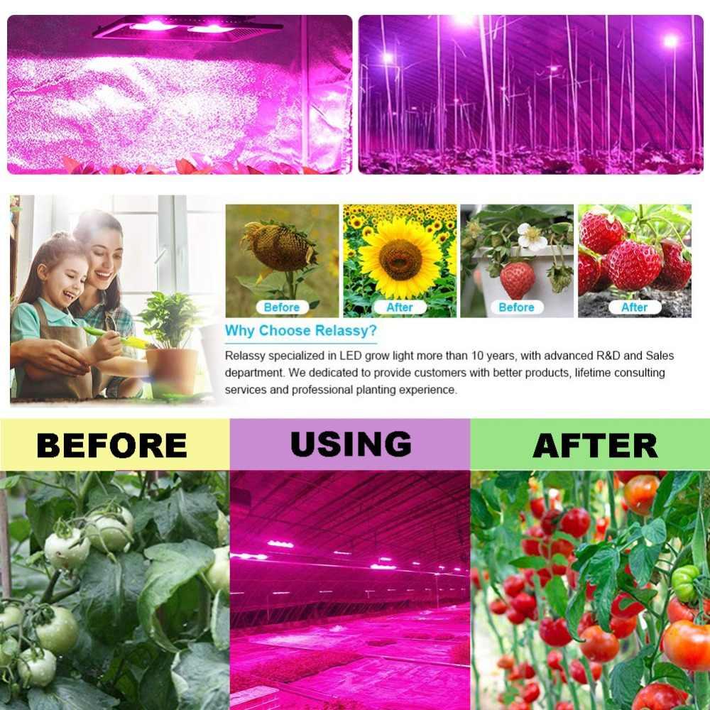 Garantia IP65 5 Anos Levou Crescer Espectro Completo de Luz À Prova D' Água Caixa de Mudas De Flores Vegetais Estufa Flor Planta Tenda