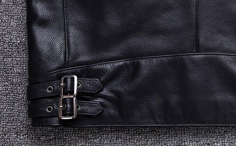 HTB1 sAoainrK1Rjy1Xcq6yeDVXa0 Brand new style motor style leather jacket,mens genuine leather coat.plus size black slim jacket.cowhide.cheap