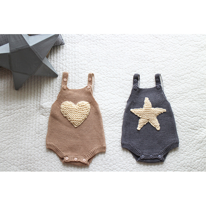 autumn winter baby rompers knit newborn baby boys rompers clothes woolen cotton infant baby overalls jumpsuit baby boy layette