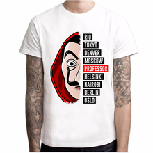T shirt men Funny Design La Casa De Papel T