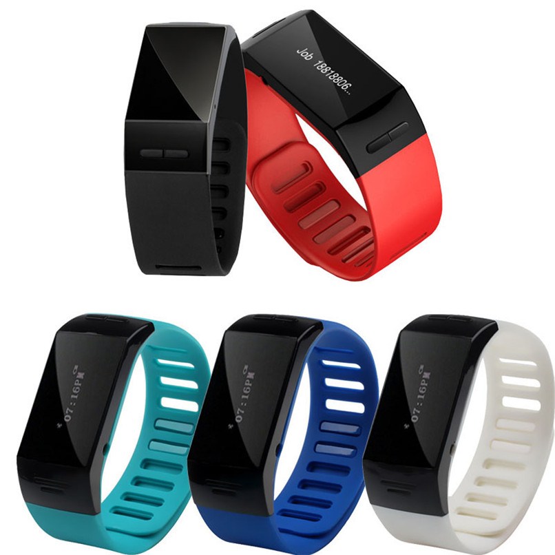 New Arrivals Blue Smart Wrist Bluetooth Watch Bracelet Phone For IOS Android Free Shipping XP15M12