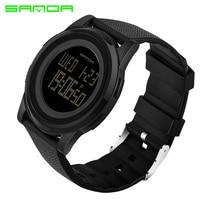 SANDA Sportuhr Männer Top-marke Luxus Fashion Elektronische Armbanduhr LED Uhren Für Männer Uhr Relogio Masculino
