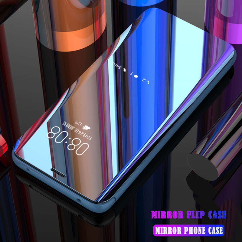 Clear View зеркало флип чехол для huawei Коврики 20 10 9 8 Pro P30 P 30 20 10 9 8 Pro Plus Lite 2017 Nova 4 3 3e 3i Смарт Стенд Крышка