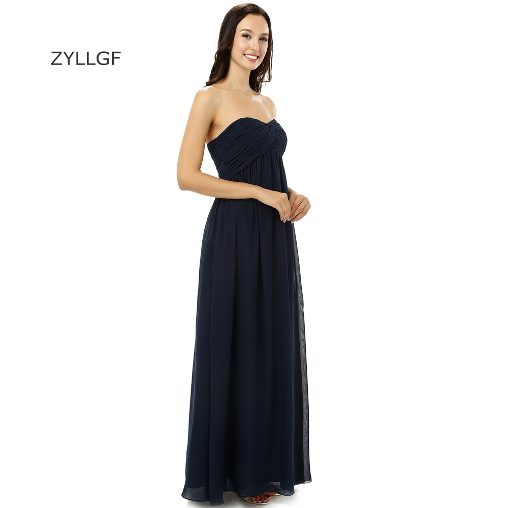ZYLLGF Turkish Evening Dresses Sweetheart Long Chiffon Women Formal Dresses  Western Style Evening Wear Made In China ZL63-in Evening Dresses from  Weddings ... ae355291337a