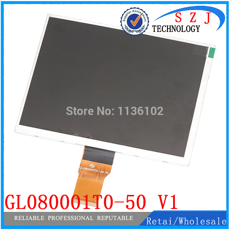 Original 8 inch GL080001T0-50 V1 LCD display for Newman T9 monokaryon Tablet PC TFT LCD display Screen panel Free Shipping 18 5 inch g185xw01 v 1 g185xw01 v1 lcd display screens