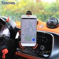 Smart 453 Original Handset Bracket Fortwo Forfour Phone Holder Fashion Car Style Clip Charge Navigation Frame