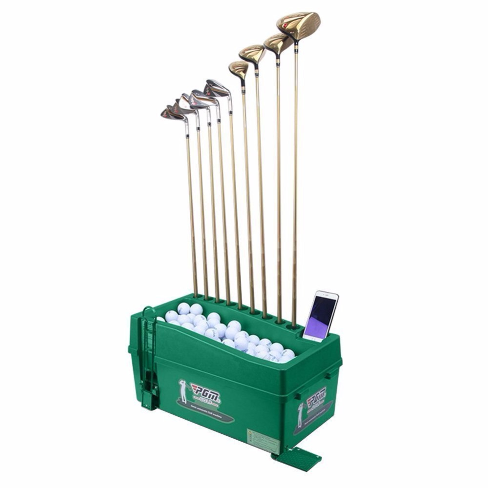 Crestgolf PGM Golf Ball Dispenser, No Power/No Electricity Required, Semi Automatic Golf Ball Dispenser, Golf Training Aids.