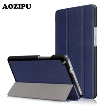 For Huawei MediaPad M3 Lite eight.zero inch Case PU Leather-based Case Cowl Good Dormancy Slim Pill Fundas For Huawei MediaPad M3 Lite eight""