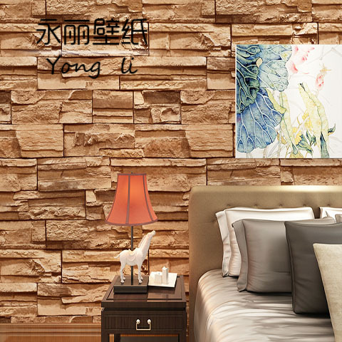 2015 new 3d chinese culture stone brick wall paper living room bedroom tv wall wallpaper in wallpapers from home improvement on aliexpresscom alibaba