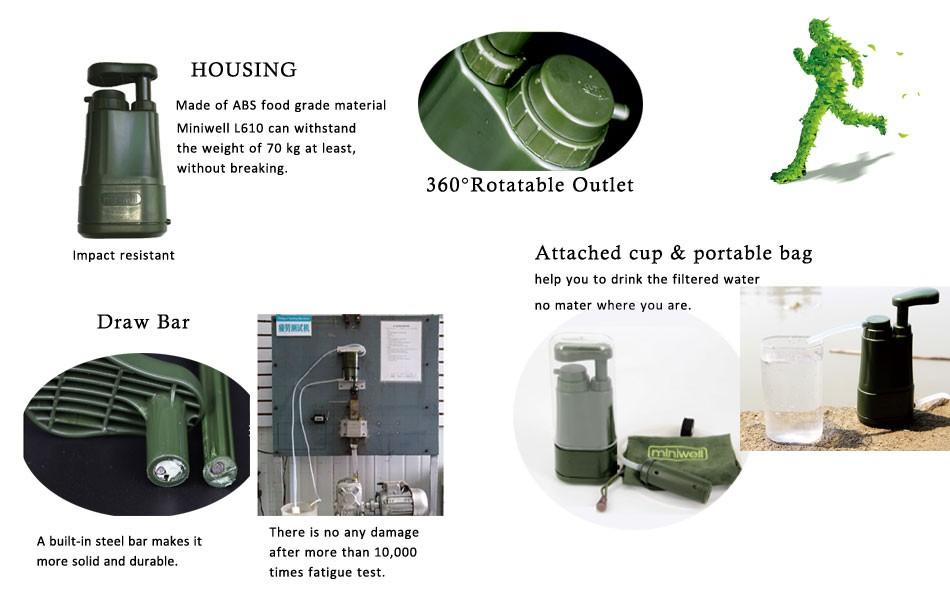 camping water filter