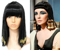 Free shipping cosplay hair decoration dance wig cos wig beads Cleopatra wigs wig for women