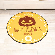 Cartoon Halloween Mats Trends Living Room Round Carpet Study Non-slip Mats Tatami Animal Mats недорого