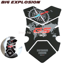 Motorcycle stickers 3D Fuel Gas Tank Pad Protector Case for BMW F800GS F800 GS 2008-2012 Polyurethane Resin