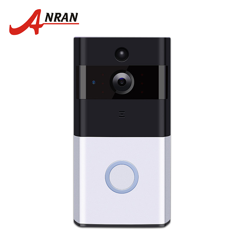 ANRAN Home Wireless IP Camera 720P Wifi Battery Doorbell Intercom Camera Night Vision Home Security Wireless With 16GB SD Card