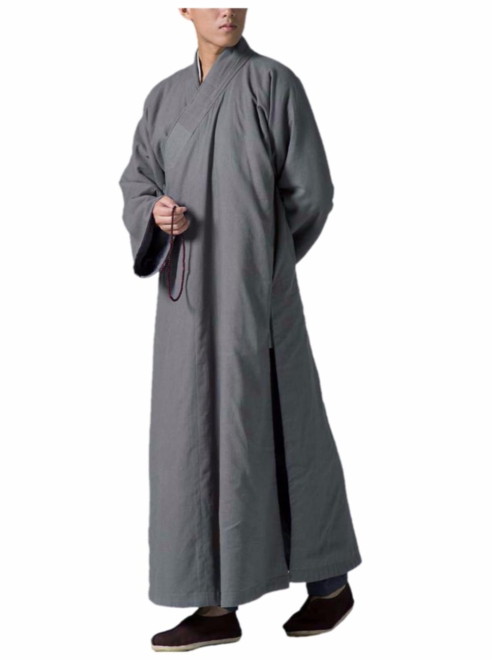 ZanYing budistična meditacija po meri odebeljen bombažni ogrinjač - Nacionalni oblačila