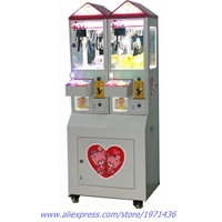 Children Coin Operated Arcade Games Mini Prize Gift Small Toy Cranes Claw Machine For Malls