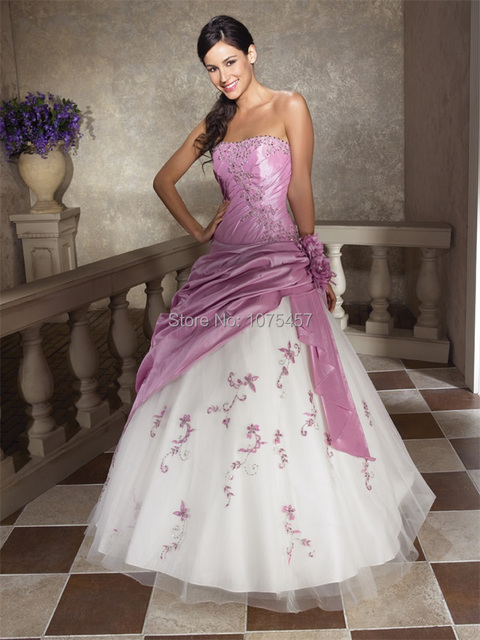 Modern Purple Masquerade Ball Dresses
