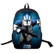 3D Star Wars Yoda Mochila Para Adolescentes Niñas niños Bolso de Escuela niños Mochilas Jedi Sith Mujeres Hombres Bolsa de Viaje Mochila Portátil