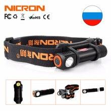 NICRON 1W Mini LED Head lamp 120Lm Camping 72 Meter Long Beam Waterproof IPX4 Flashlight HeadLight Torch Lamp H12