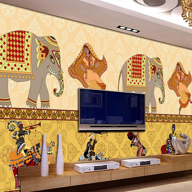 Buy Gloob Multicolour D Wallpaper Online At Low Price In India